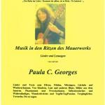 2000 Programm Musik in den Ritzen des Mauerwerks